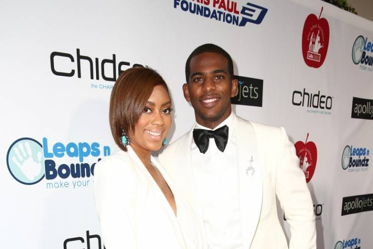 Jada and Chris Paul
