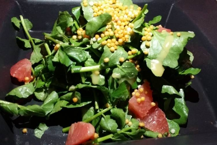 Japanese Salad with Grapefruit