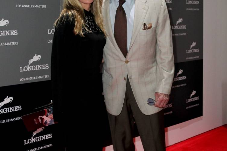 Linda and James Caan