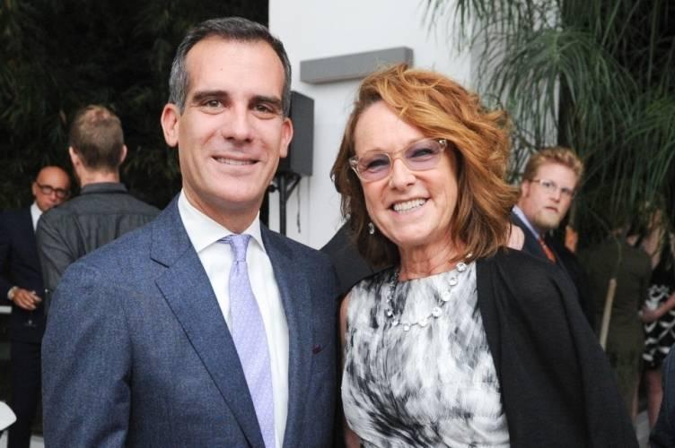 Mayor Eric Garcetti & Annie Philbin