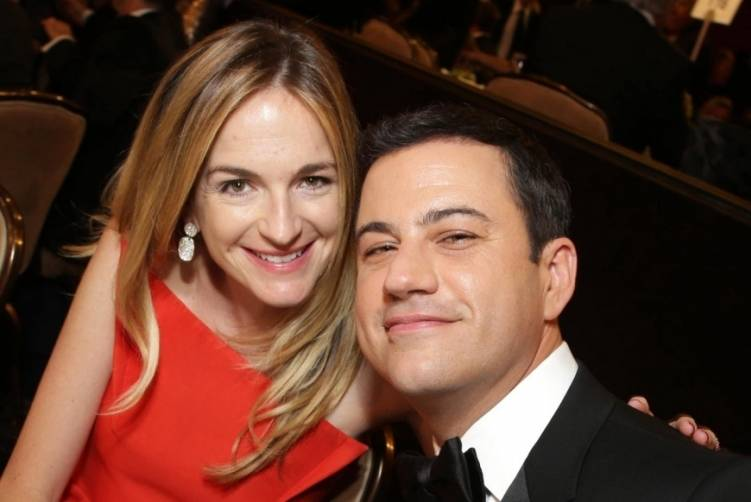 Molly McNearney + Jimmy Kimmel