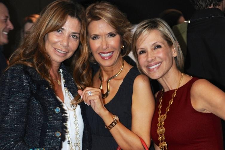 Nadina Curmi Borgomanero, Daisy Olivera, & Michelle Areces