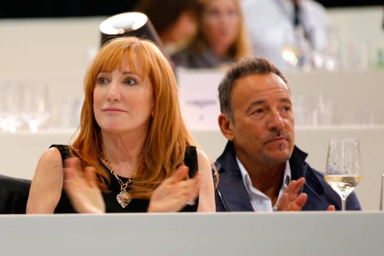 Patti Scialfa and Bruce Springsteen