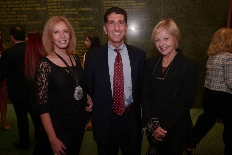 Penny Friedman, MCB Executive Director, Michael Scolamiero, & Cathy Leff at Opening Night for Program I