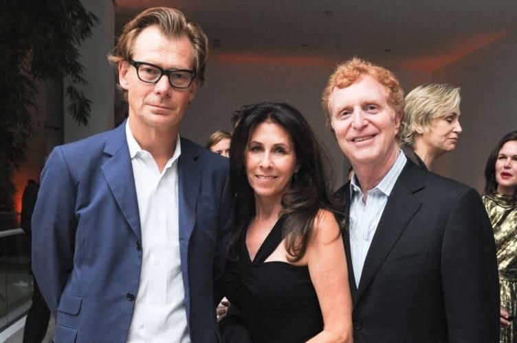 Philippe Vergne, Linda Gersh, Bob Gersh