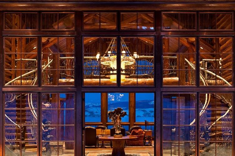 Private Jackson Hole Lodge Home