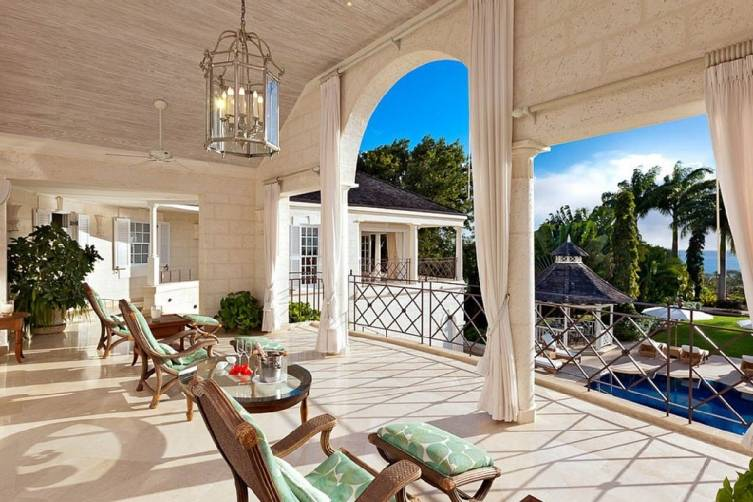 Private Villa at Sugar Hill Balcony
