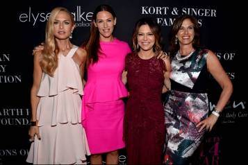 Rachel Zoe, Jennifer Garner, Elyse Walker and Dr. Beth Karlan