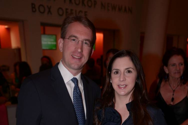 Rob & Ana Barlick at Miami City Ballet's Opening Night for Program I at the Arsht