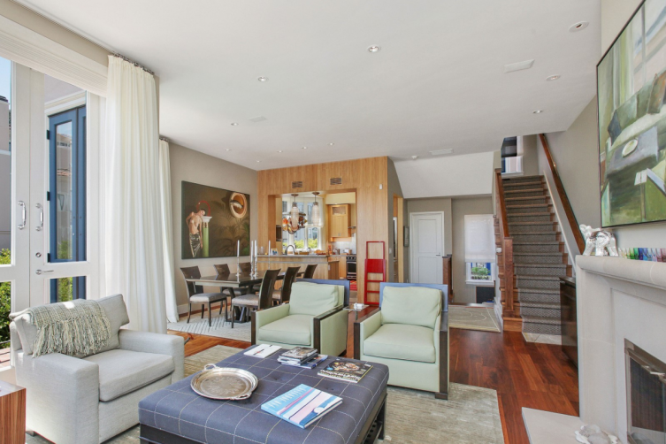 Sotheby's International Realty  – Telegraph Terrace View Townhome