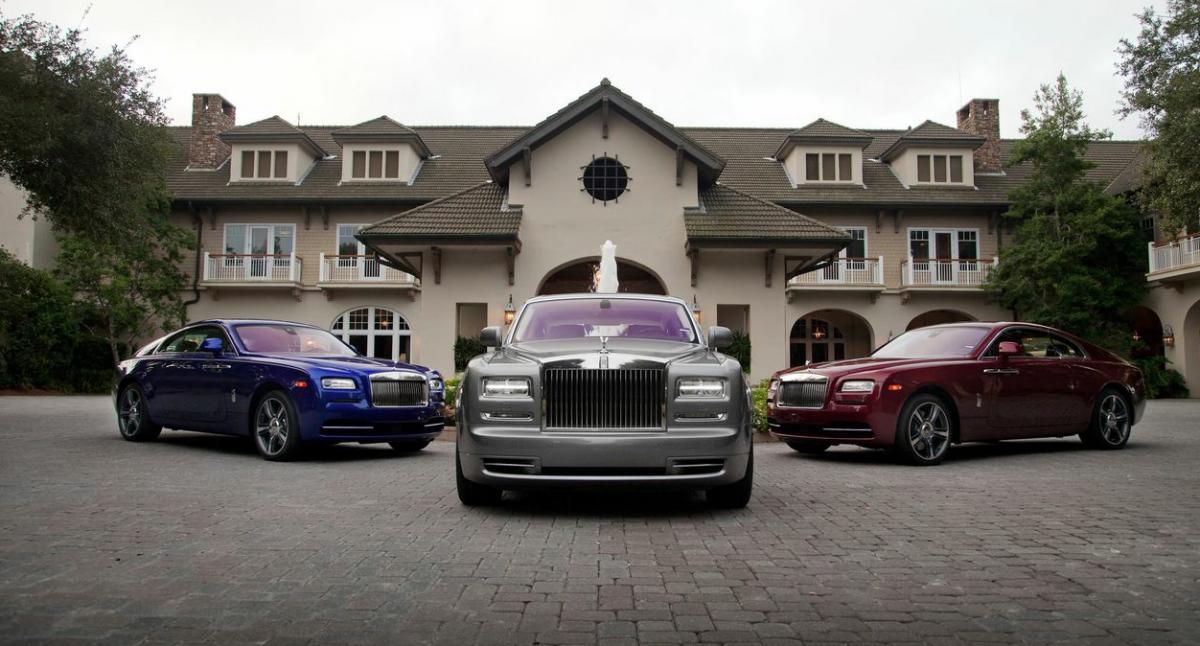 The Rolls-Royce 2014 Wraith and Phantom. All photos by Robert Guio via Rolls-Royce Motorcars NA.