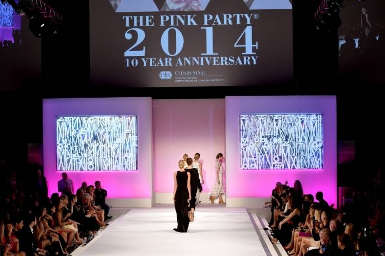 The Pink Party runway show