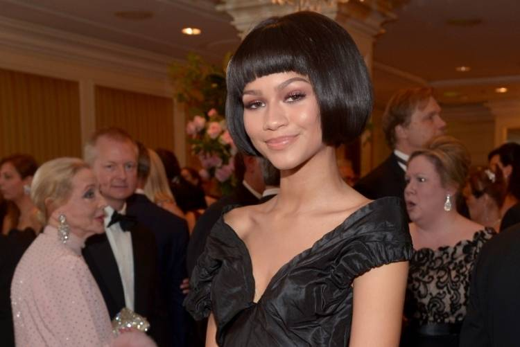Zendaya attends the 2014 Princess Grace Awards Gala