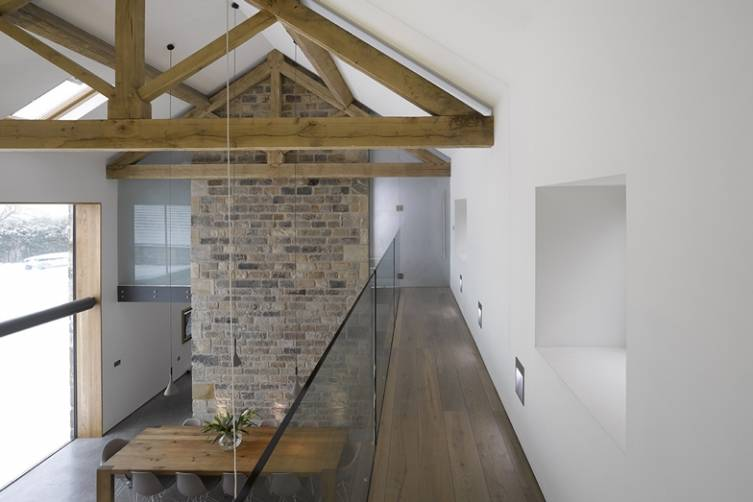 Old Yorkshire Barn Turns into Modern Home