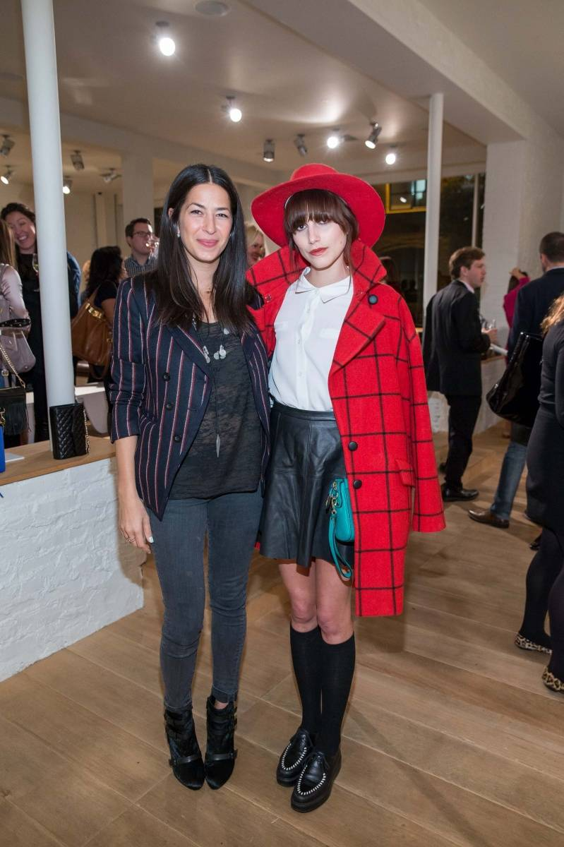 Rebecca Minkoff and Langley Fox Hemingway