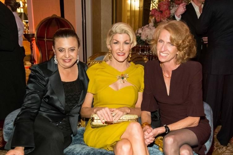 Ana Morales, Karen Caldwell and Marta Benson