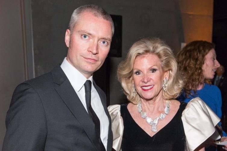 Dieter Buchhart and Dede Wilsey