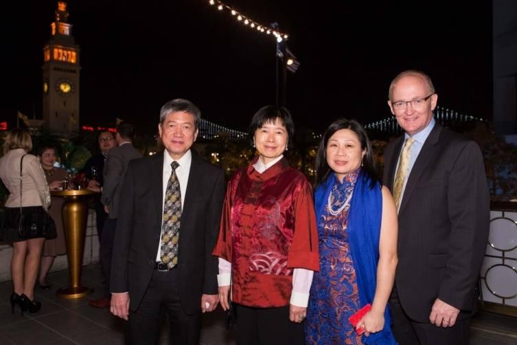 Ip Yiu Tung, Michelle Chow, Darlene Bryant, Andy Bryant