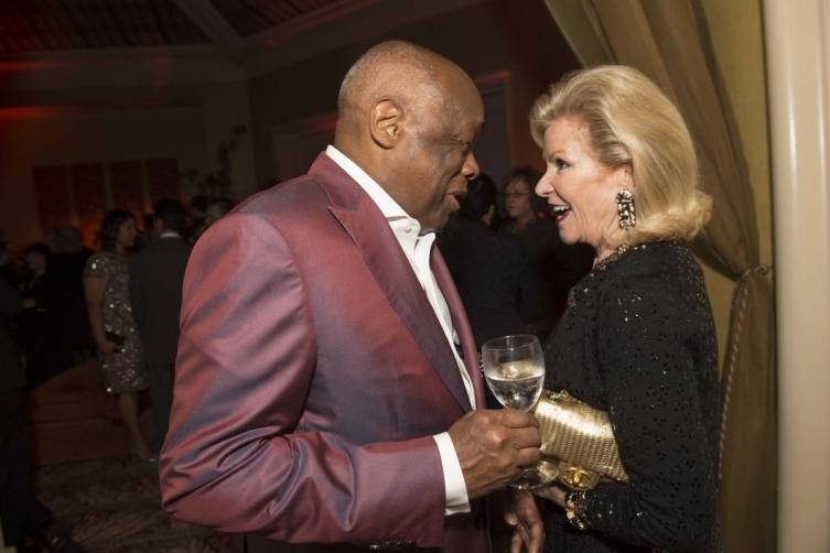 Willie Brown and Dede Wilsey