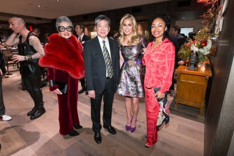 Joy Venturini Bianchi, Ip Yiu Tung, Paula Carano, Tanya Powell