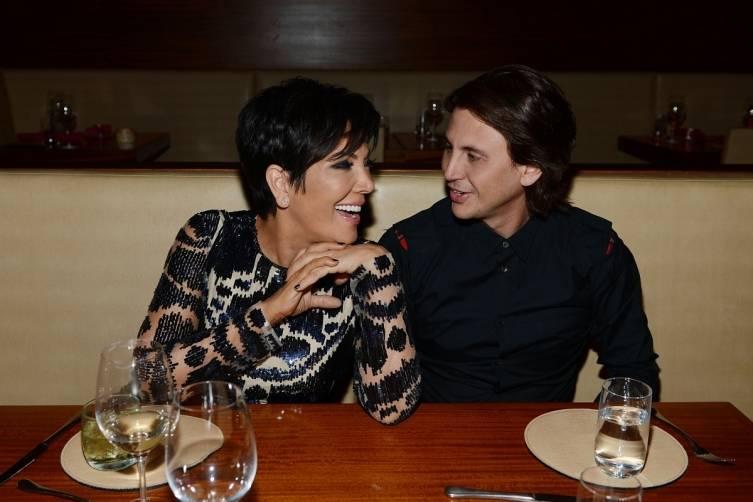 2 Kris Jenner and Jonathan Cheban at STACK