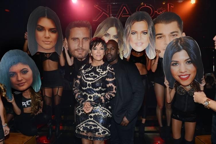 Kris Jenner at 1 OAK Nightclub Las Vegas. Photos: Denise Truscello/WireImage