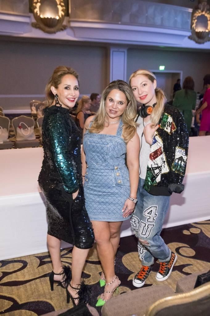 Brenda Zarate, Rada Katz and Sonya Molodetskaya