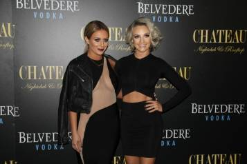 Aubrey O'Day and Shannon Bex on Chateau Red Carpet 2