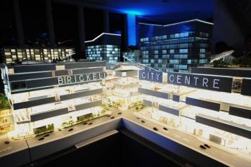 Brickell City Centre Scale Model