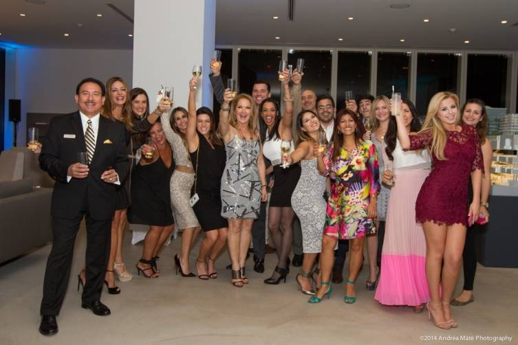 Brickell City Centre's Reach and Rise Sales Team