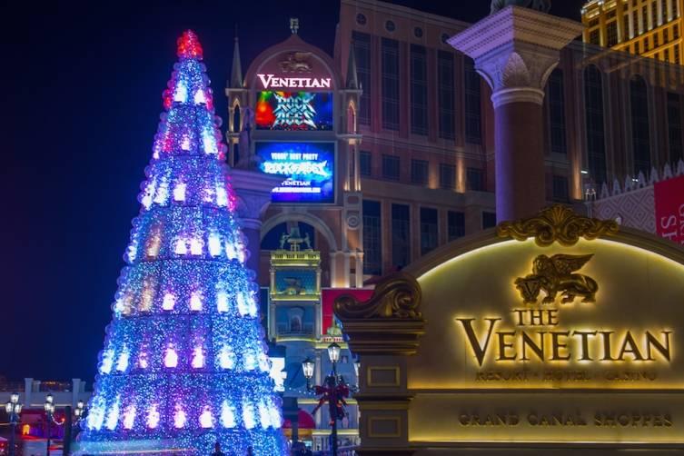 Christmas Tree The Venetian Las Vegas