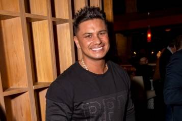 DJ Pauly D at the Grand Opening of Lucky Foo's Restaurant & Bar