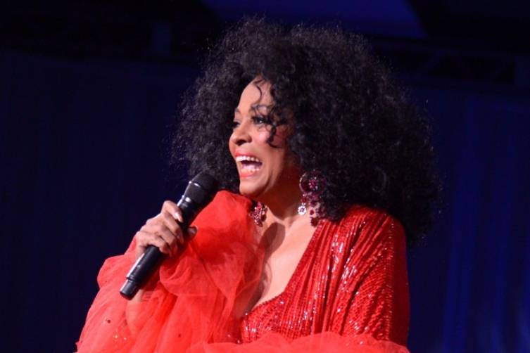 Diana Ross - by Manny