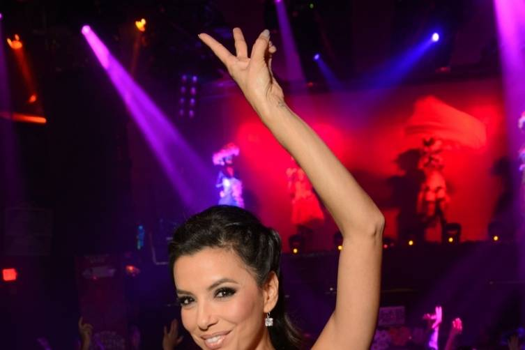 Eva Longoria Hosts Dia de los Muertos Celebration at TAO