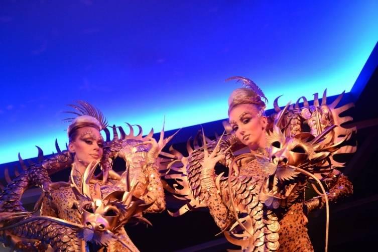 Hakkasan Halloween_Dragon Dancers
