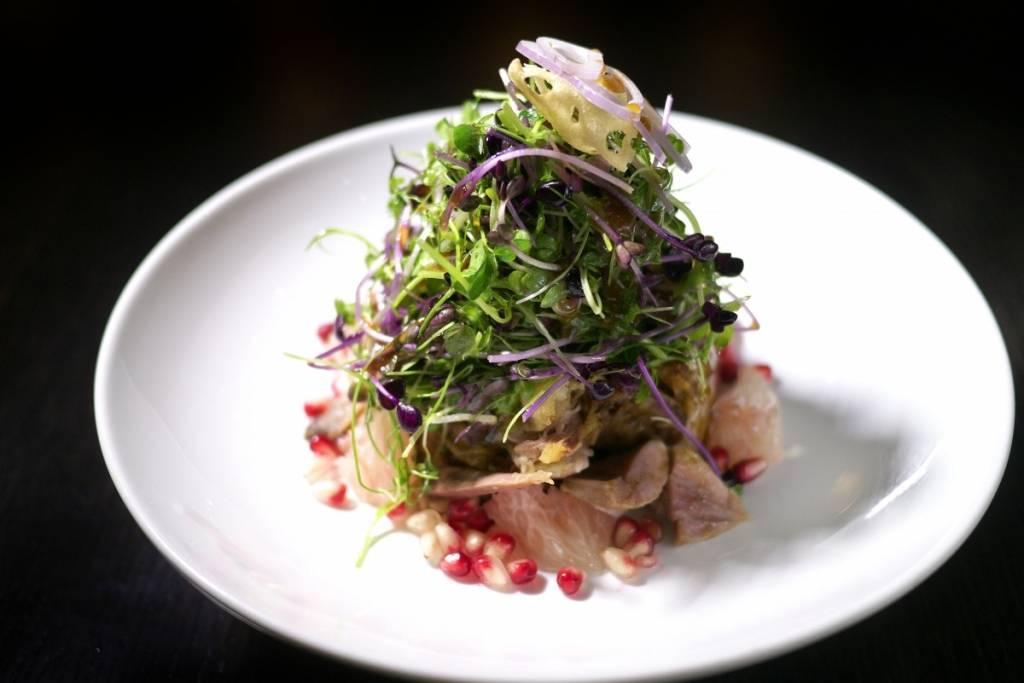 Hakkasan_Crispy duck salad_credit Aubrie Pick