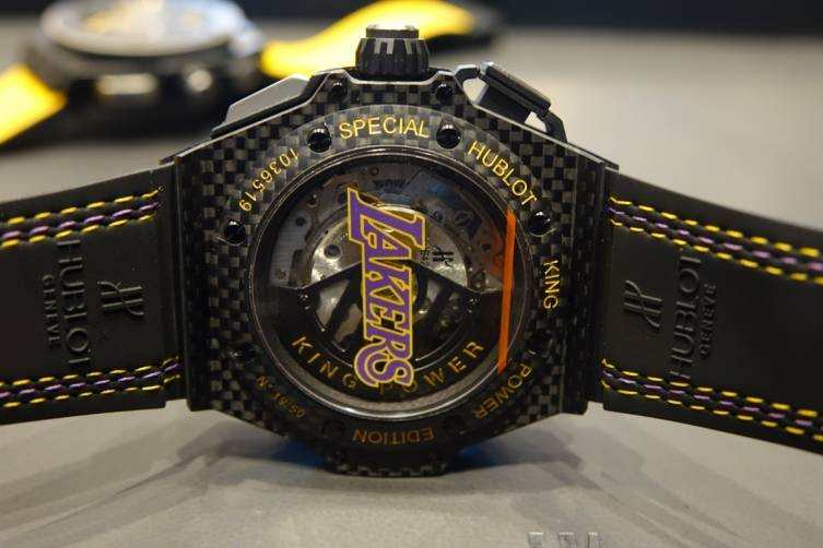Hublot King Power Los Angeles Lakers timepiece