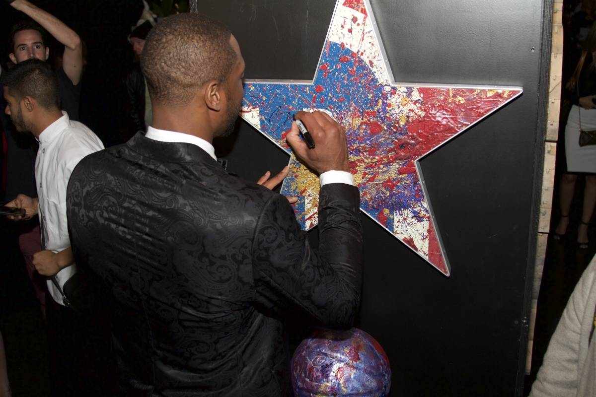 Dwyane Wade's A Night on The Runwade 2014