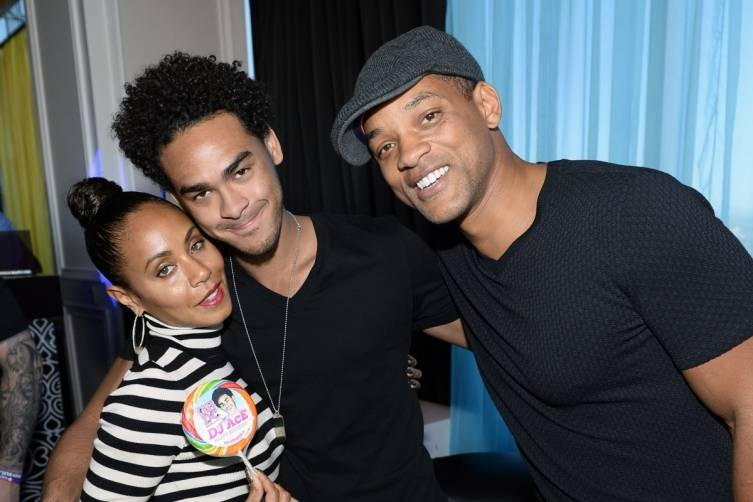 Jada Pinkett Smith_Trey Smith aka DJ Ace and Will Smith at GBDC at Palms Casino Resort (Bryan Steffy Wire Image)