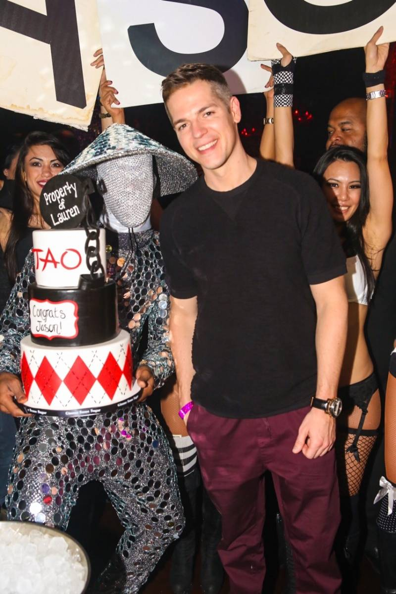 Jason Kennedy Throws His Bachelor Party at Tao, Lavo and Marquee
