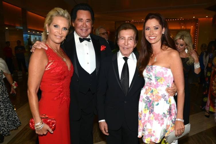 Kathleen Newton, Wayne Newton, Alvin and Nancy Malnik - by Manny