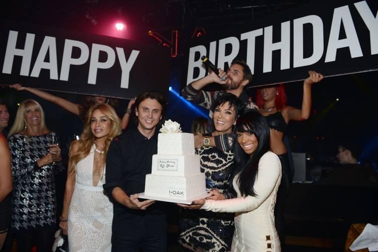 Kris Jenner at 1 OAK Nightclub Las Vegas 3