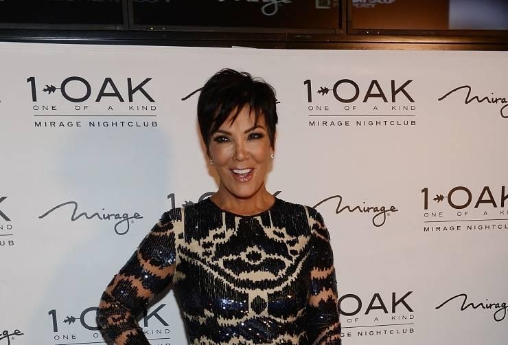 Kris Jenner at 1 OAK Nightclub Las Vegas 8