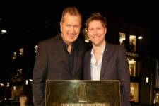 Mario Testino & Christopher Bailey