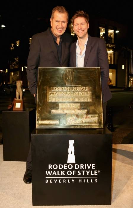 Rodeo Drive Walk of Style Honors Burberry