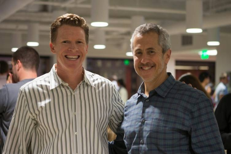 Matt Roberts and Danny Meyer