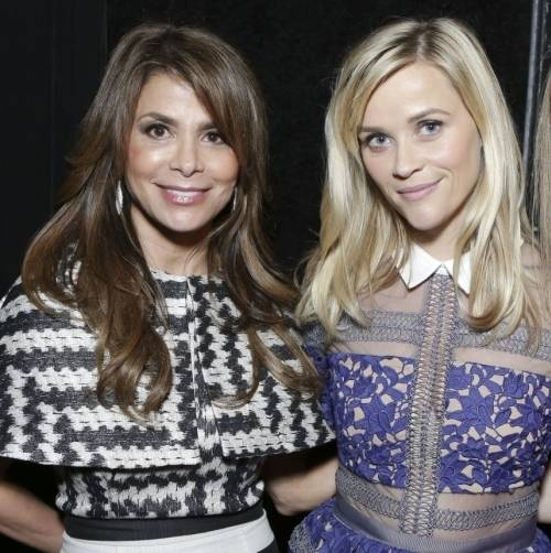 Paula Abdul and Reese Witherspoon