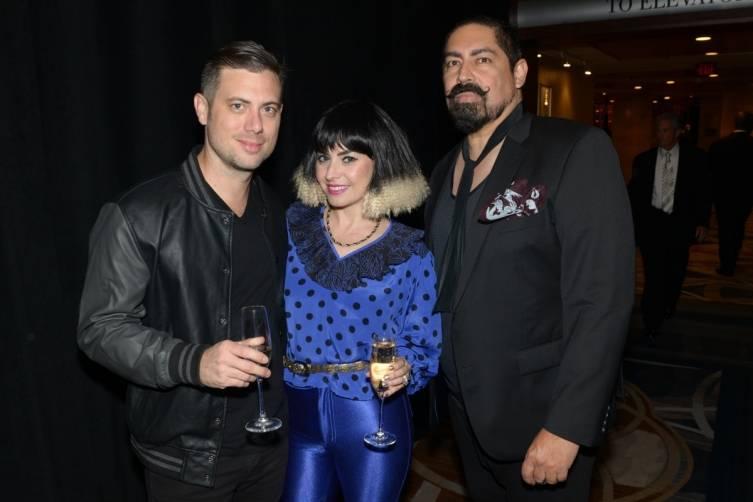 Sean Drake, Michelle Leshem, Danny Santiago - by  Manny