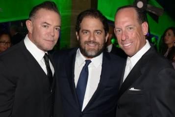 Shareef Malnik, Brett Ratner, Wayne Chaplin – by Manny