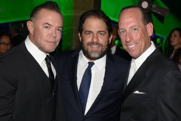 Shareef Malnik, Brett Ratner, Wayne Chaplin - by Manny